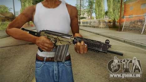 DSA FAL Camo Variant für GTA San Andreas dritten Screenshot