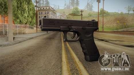Glock 18 Blank Sight pour GTA San Andreas