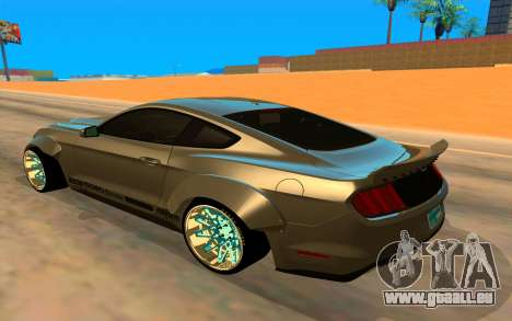 Ford Mustang Azure Inferno für GTA San Andreas linke Ansicht