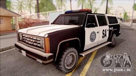 Police Rancher 4 Doors pour GTA San Andreas