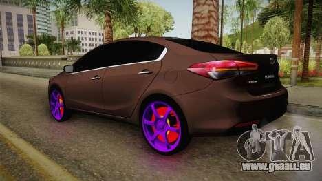 Kia Cerato Eccentric pour GTA San Andreas vue de droite