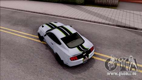 Ford Mustang 2015 Need For Speed Payback Edition für GTA San Andreas Rückansicht