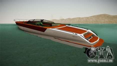 GTA 5 Speeder pour GTA San Andreas laissé vue