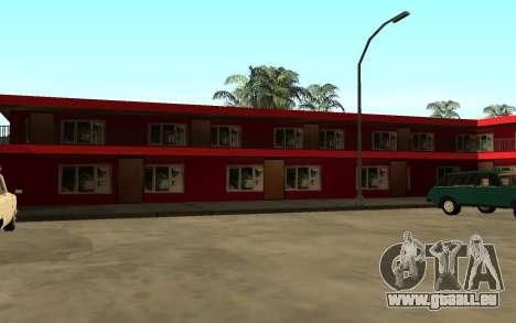 De nouvelles textures de l'hôtel Incluent pour GTA San Andreas quatrième écran