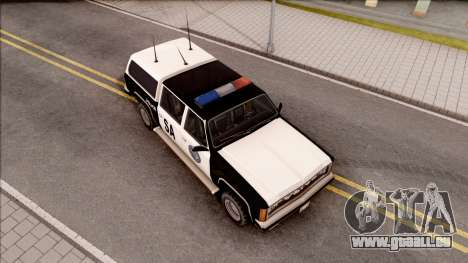Police Rancher 4 Doors pour GTA San Andreas vue de droite