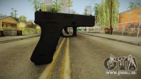 Glock 18 3 Dot Sight pour GTA San Andreas deuxième écran