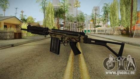 DSA FAL Camo Variant für GTA San Andreas zweiten Screenshot