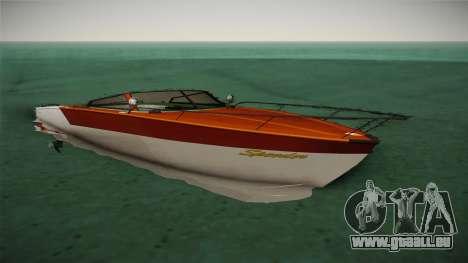GTA 5 Speeder pour GTA San Andreas vue de droite
