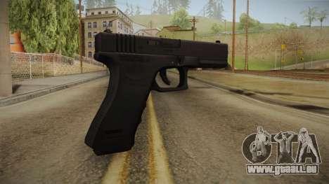 Glock 18 Blank Sight pour GTA San Andreas deuxième écran