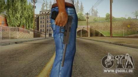 Glock 17 3 Dot Sight with Long Barrel pour GTA San Andreas troisième écran