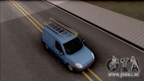 Citroen Berlingo Mk2 Van pour GTA San Andreas vue de droite