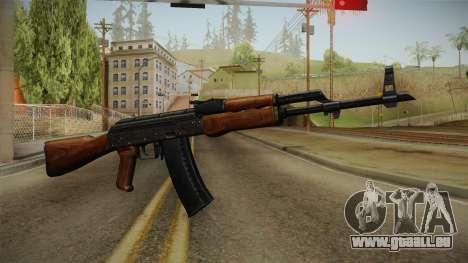 AKM Assault Rifle v2 pour GTA San Andreas deuxième écran