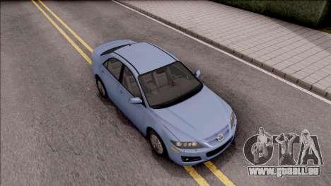 Mazda 6 MPS für GTA San Andreas rechten Ansicht