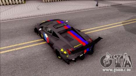 Lamborghini Gallardo Philippines v2 für GTA San Andreas Rückansicht