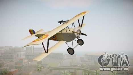 Nieuport 11 Bebe - Nr.1249 Romania für GTA San Andreas