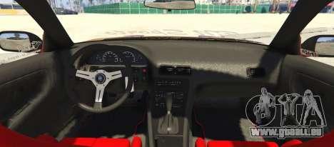 GTA 5 Nissan 240SX BN Sports III hinten links Seitenansicht