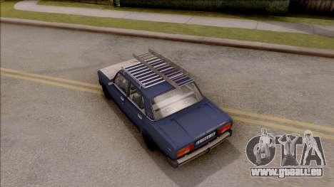 VAZ 2105 für GTA San Andreas Rückansicht