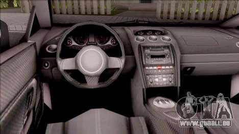 Lamborghini Gallardo Philippines v2 für GTA San Andreas Innenansicht