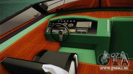 GTA 5 Speeder pour GTA San Andreas vue arrière