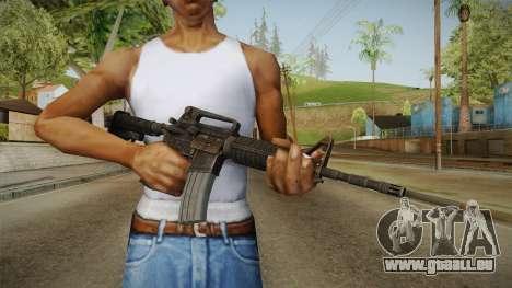 Colt M4A1 Rusty pour GTA San Andreas