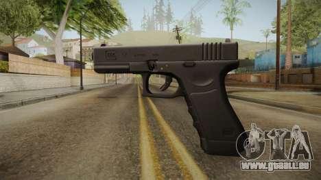 Glock 17 3 Dot Sight Ultraviolet Purple pour GTA San Andreas deuxième écran