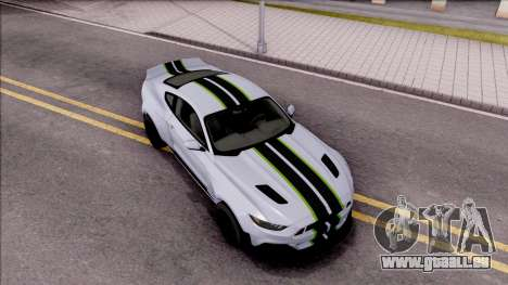 Ford Mustang 2015 Need For Speed Payback Edition für GTA San Andreas rechten Ansicht