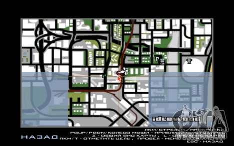 De nouvelles textures de l'hôtel Incluent pour GTA San Andreas cinquième écran