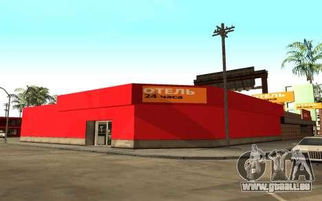 De nouvelles textures de l'hôtel Incluent pour GTA San Andreas