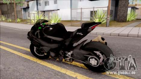 Kawasaki Ninja H2 2017 pour GTA San Andreas