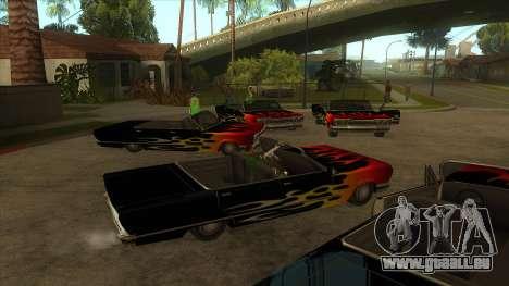 Visual Car Copypaster v1.0 pour GTA San Andreas deuxième écran