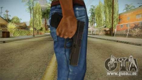 Glock 18 3 Dot Sight pour GTA San Andreas troisième écran