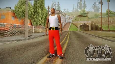 Pantalon rouge du père Noël pour GTA San Andreas troisième écran