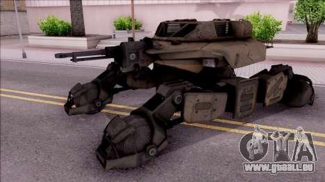 Mobile Art-Installation COD: Advance Warfare pour GTA San Andreas