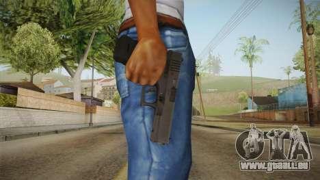 Glock 17 3 Dot Sight Ultraviolet Purple pour GTA San Andreas troisième écran
