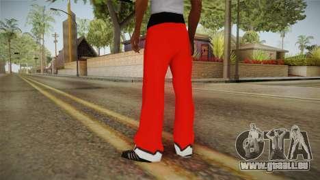 Pantalon rouge du père Noël pour GTA San Andreas deuxième écran