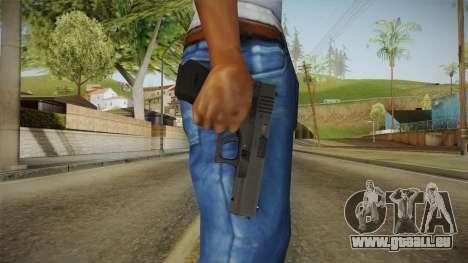 Glock 18 pour GTA San Andreas troisième écran