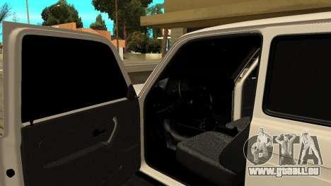 VAZ 2121 ARM pour GTA San Andreas vue intérieure