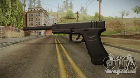 Glock 17 3 Dot Sight with Long Barrel pour GTA San Andreas deuxième écran