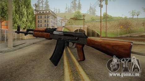 AKM Assault Rifle v2 pour GTA San Andreas troisième écran