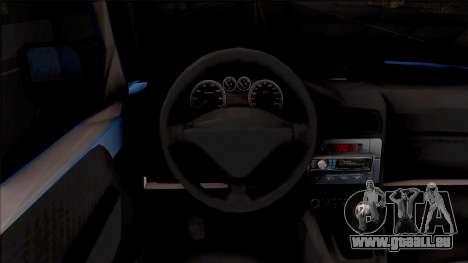 Citroen Berlingo Mk2 Van pour GTA San Andreas vue intérieure