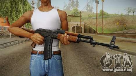 AKM Assault Rifle v2 pour GTA San Andreas