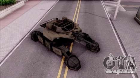 Mobile Art-Installation COD: Advance Warfare pour GTA San Andreas vue de droite