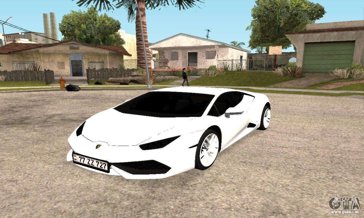 lamborghini huracan 2014 armenian pour gta san andreas. Black Bedroom Furniture Sets. Home Design Ideas