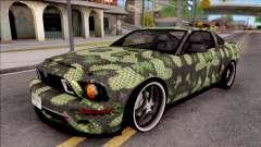 Ford Mustang Shelby GT500KR Super Snake v2 pour GTA San Andreas