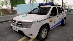 Renault Duster Spanish Police