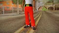 Pantalon rouge du père Noël
