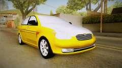 Hyundai Accent 2011 für GTA San Andreas