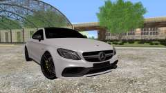 Mercedes-Benz C63 Coupe für GTA San Andreas
