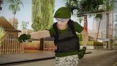 Gunrunning Female Skin v1 pour GTA San Andreas