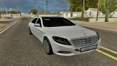 Mercedes-Maybach S600 X222 Exclusive pour GTA San Andreas